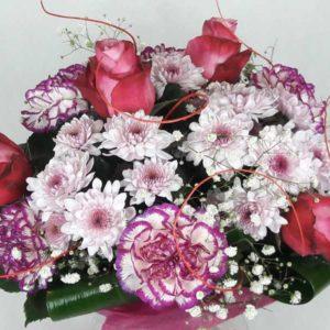 bukiet różowy obłok