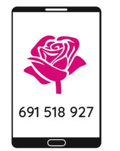 kwiaty na telefon